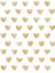 Marley + Malek Kids - Wallpaper Love - Gold