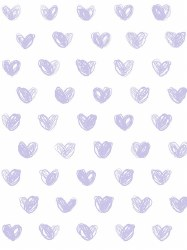 Marley + Malek Kids - Wallpaper Love - Lavander