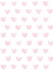 Marley + Malek Kids - Wallpaper Love - Pink