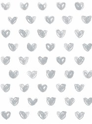 Marley + Malek Kids - Wallpaper Love - Silver