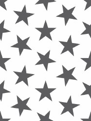 Marley + Malek Kids - Wallpaper Lucky Star - Charcoal