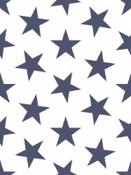 Marley + Malek Kids - Wallpaper Lucky Star - Navy