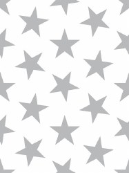 Marley + Malek Kids - Wallpaper Lucky Star - Silver