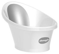 Shnuggle - The Shnuggle Baby Bath Tub - White/Grey