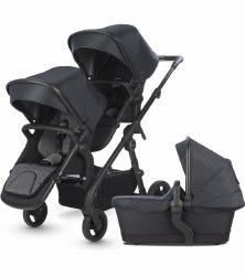 Silver Cross - Coast Double Stroller - Flint