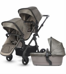 Silver Cross - Coast Double Stroller - Tundra