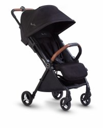 Silver Cross - 2020 Jet Ultra Compact Stroller - Black
