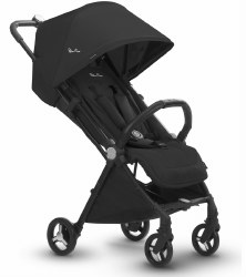 Silver Cross - Jet Ultra Compact Stroller - Ebony Black