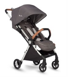 Silver Cross - Jet Ultra Compact Stroller - Special Edition Galaxy Charcoal