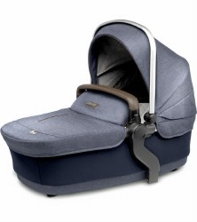 Silver Cross - Wave Stroller Bassinet - Midnight Blue