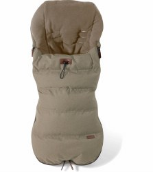 Silver Cross - Wave Premium Footmuff - Linen
