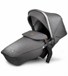 Silver Cross - Wave Stroller Tandem Second Seat - Granite