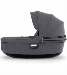 Stokke - 2018 Trailz Carrycot - Black Melange