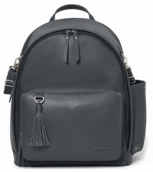 Skip Hop - Greenwich Diaper Backpack - Smoke