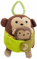 Skip Hop - Treetop Hug & Hide Stroller Monkey