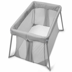 Skip Hop - Play To Night Expanding Travel Crib - Grey/Clouds
