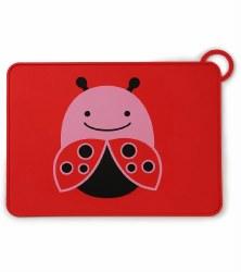 Skip Hop - Zoo Fold & Go Silicone Placemat Ladybug