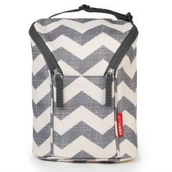 Skip Hop - Grab & Go Double Bottle Bag Chevron