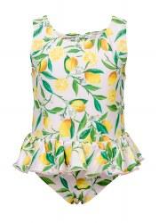 Snapper Rock - Skirt Swimsuit Lemon 6-12