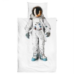 Snurk Living - Kids Duvet Cover Set Astronaut - Twin