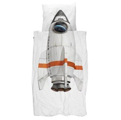 Snurk Living - Kids Duvet Cover Set Rocket - Twin