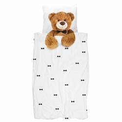 Snurk Living - Kids Duvet Cover Set Teddy Bear - Twin