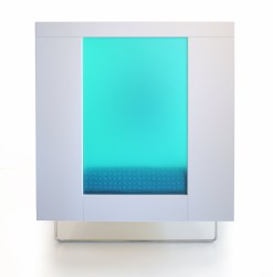 Spot On Square - Alto Crib - Aqua Translucent Acrylic