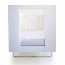 Spot On Square - Alto Crib - Clear Acrylic
