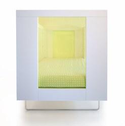 Spot On Square - Alto Crib - Kiwi Transparent  Acrylic