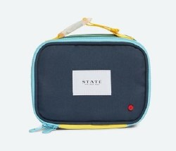 State Bags - Rodgers Lunch Box - Green/Navy