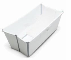 Stokke - Flexi Bath Tub Bundle With Newborn Support - White