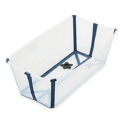 Stokke - Flexi Bath Tub - Transparent/Blue