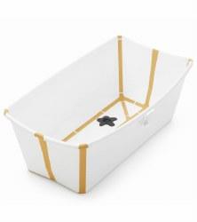 Stokke - Flexi Bath Tub White/Yellow