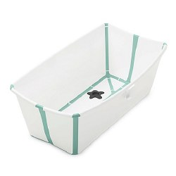 Stokke - Flexi Bath Tub - White/Aqua
