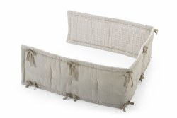 Stokke - Home Crib Half Bumper Natural/Beige