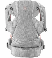 Stokke - MyCarrier Front Baby Carrier - Pink Mesh