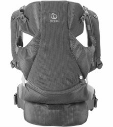 Stokke - MyCarrier Front & Back Baby Carrier - Grey Mesh