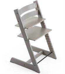 Stokke - 2019 Tripp Trapp Oak High Chair - Grey Wash