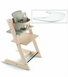 Stokke - 2019 Tripp Trapp Complete High Chair - Natural/Timeless Grey