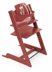 Stokke - Tripp Trapp High Chair & Baby Set Bundle - Warm Red