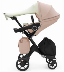 Stokke - Xplory Complete Stroller Balance Limited Edition - Soothing Pink