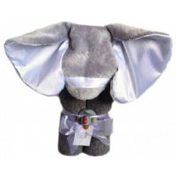 Swankie Blankie - Hooded Towel Elephant