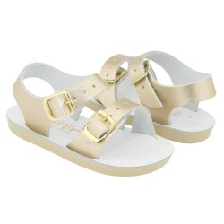 Saltwater Sandals - Sea Wees Sandals Gold 1