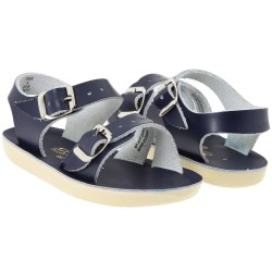 Saltwater Sandals - Sea Wees Sandals Navy 3