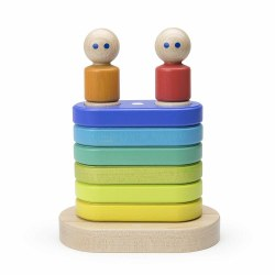 Tegu - Magnetic Floating Stacker - Blue Green