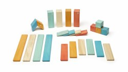 Tegu - Magnetic Wooden Blocks 24pc Sunset