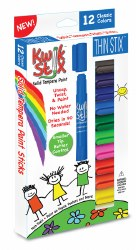 The Pencil Grip - TPG KiwkStix 12 Classic Colors