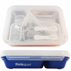 Think Baby - G02  Lunch Container - Blue
