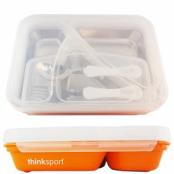 Think Baby - G02  Lunch Container - Orange