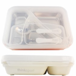 Think Baby - G02  Lunch Container - White